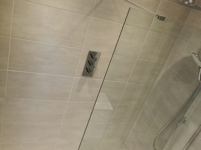 Shower view from above