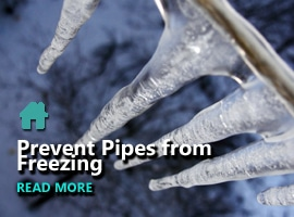 HOW TO PREVENT PIPES FROM FREEZING?